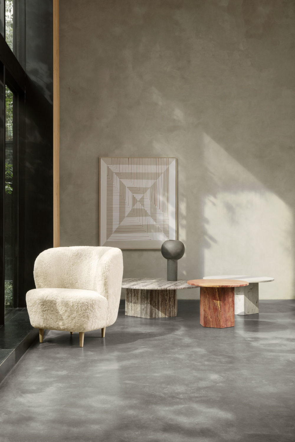 Interieur and Seating Design by GUBI