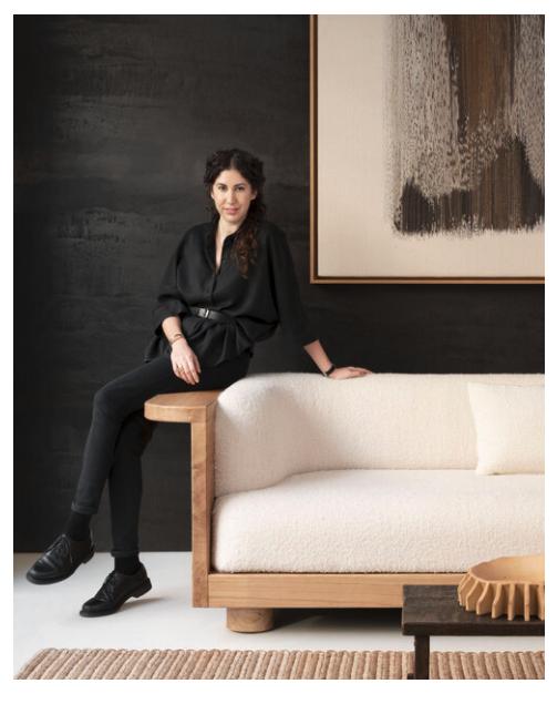 Designerin Emmanuelle Simon